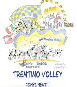 Trentino Volley campione d'Europa