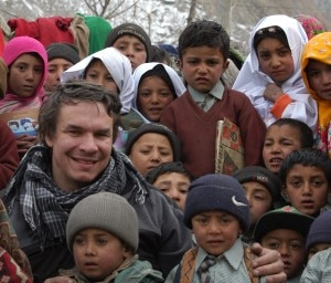 Greg Mortenson in Pakistan