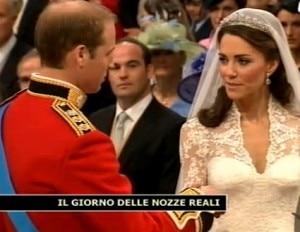 Le nozze reali di William e Kate