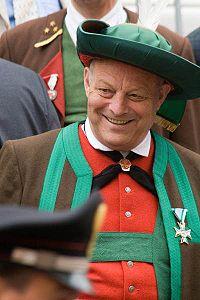 Il governatore dell'Alto Adige, Luis Durnwalder