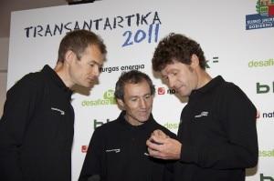Alberto Iñurrategi, Mikel Zabalza e Juan Vallej (Photo Desnivel - Basque team Desafioa)