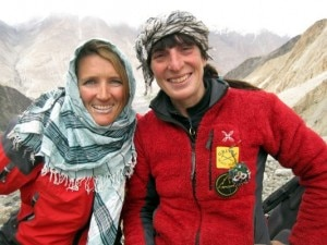Anna Torretta e Suzy Medge in Afghanistan