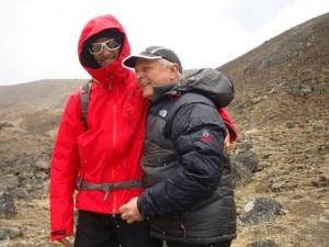 Daniele Bernasconi e Agostino Da Polenza, arrivo in Piramide