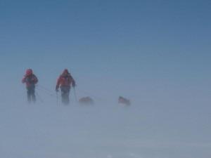 Iñurrategi Vallejo e Zabalza in Groenlandia (Photo basqueteam.com)
