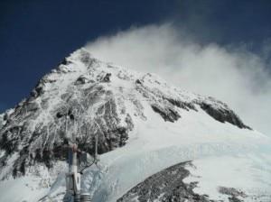 L'Everest visto da Colle Sud