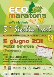 Locandina Ecomaratona delle Madonie
