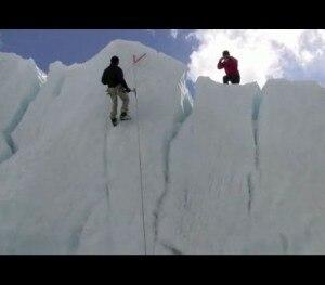 Tiri di ghiaccio al campo base