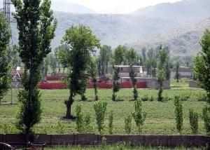 Il compound in cui era rifugiato Bin Laden