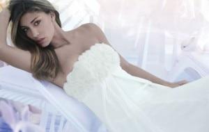 Belen in abito da Sposa per una pubblicità