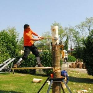 Campionato italiano dei Stihl Timbersports Series (Photo www.stihl.it)