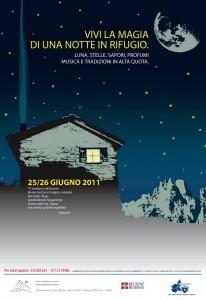 Notte in Rifugio 2011
