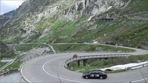 Viaggio sulle Alpi su treruote (Photo bbc.co.uk)