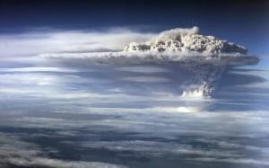 La nube dal vulcano