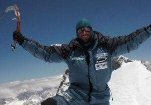 Álex Txikon sulla cima del Gasherbrum I 9 giorni fa (Photo Abc Team)