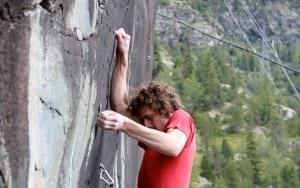 Adam Ondra in Valmalenco