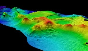 Antarctic subsea volcanoes (Photo www.livescience.com)