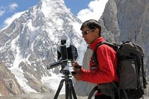 Fabiano Ventura in Karakorum (Photo www.macromicro.it)