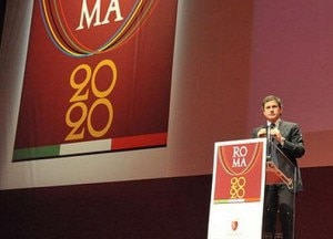 Gianni-Alemanno annuncia la candidatura di Roma ai giochi 2020
