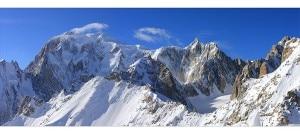 Il Monte Bianco (photo di Re Fiorentin Fernando courtesy www.paesaggiverticali.it)