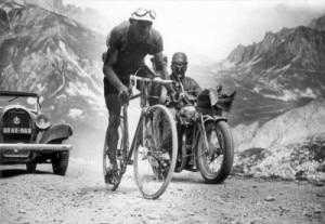 Il ciclista spagnolo Federico Ezquerra al Tour de France 1934