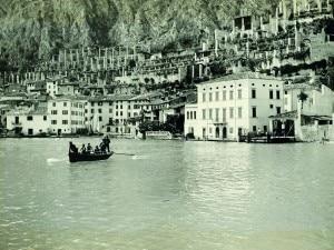 Il lago di Garda 100 anni fa (Photo trentinocorrierealpi.geolocal.it)