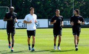 Allenamento della Juventus (Photo courtesy Tuttosport.it)