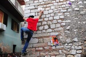 Street boulder - Mountain Freedom