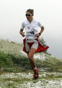 Mireia Mirò alla Dolomites Skyrace (Photo courtesy Pegaso Media)