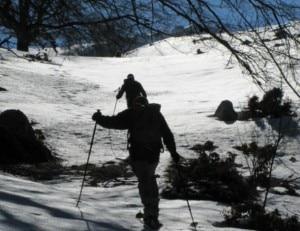 scialpinismo sul velino