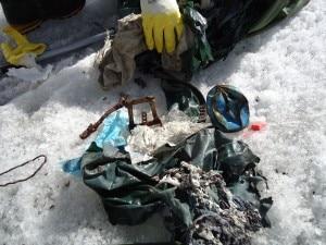 Keep Karakorum Clean: pulizia al GII (Photo courtesy Evk2cnr)