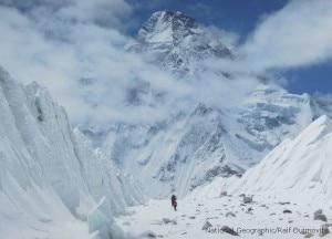 K2 Nord (Photo National Geographic courtesy R. Dujmovits)
