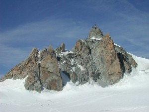 Aiguille du Mid parete sud (photo R. Lacassin)