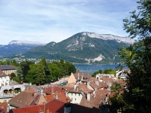 La città di Annecy (© University of Pennsylvania)