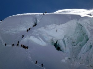 Alpinisti al Cho Oyu (Photo Adventure Lovers - Explorersweb)
