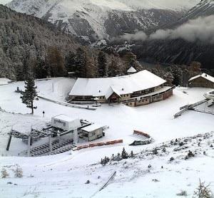 Webcam malga San Valentino - 1500 metri in Val Venoste (Photo 3bmeteo.com)