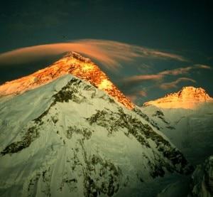 Monte Everest (Photo courtesy of http://www.basecamp2010.co.uk/)