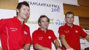 Juan Vallejo, Mikel Zabalza e Alberto Iñurrategi (Photo Naturgas - Bbk)