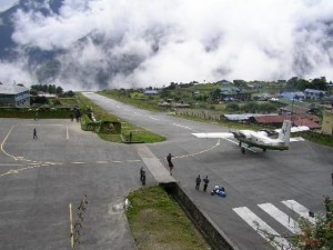 La pista di Lukla (Photo fabiusone.blogspot.com)