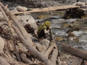Pakistan estate 2010, alluvione nei distretti montuosi del Baltistan, quelli di Skardu e di Ghanche