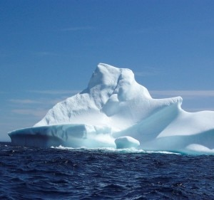 Iceberg (Photo courtesy of http://www.mollybawn.com)