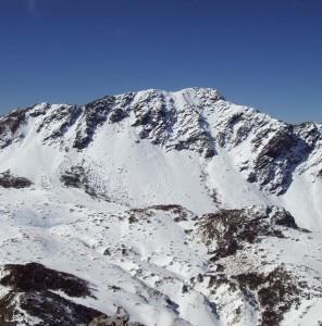 Il monte Nanhu (Photo courtesy of http://gisttaiwan.blogspot.com)