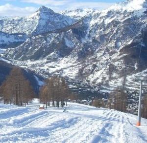 Gli impianti di Bardonecchia sullo Jafferau (Photo courtesy of www.skiforum.it)