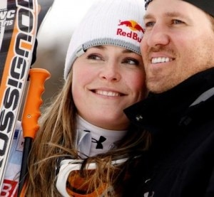 Lindsay e Thomas Vonn (Photo courtesy of Agence Zoom/Getty Images)