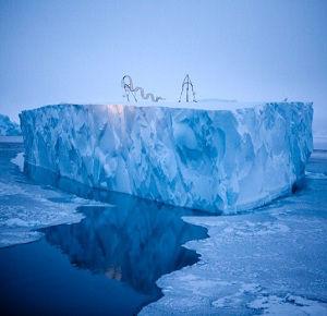 Coolemotion sculture-sugli-iceberg-della-Groenlandia