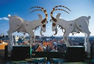 L'orologio del Municipio di poznan