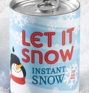 La lattina per la neve istantanea (© 2011 Perpetual Kid)
