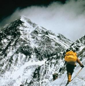 Viaggiare sull'Everest (© Barry Bishop)