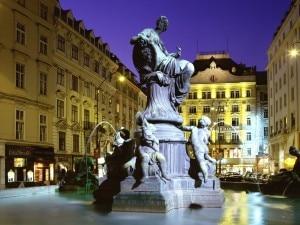 Una veduta di Vienna