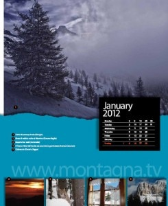 Calendario Montagna.tv 2012