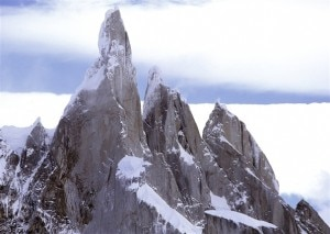 Cerro Torre, Torre Egger e Cerro Standhardt da sud, sud-est (Photo courtesy of thebmc.co.uk - Andrej Grmovsek)